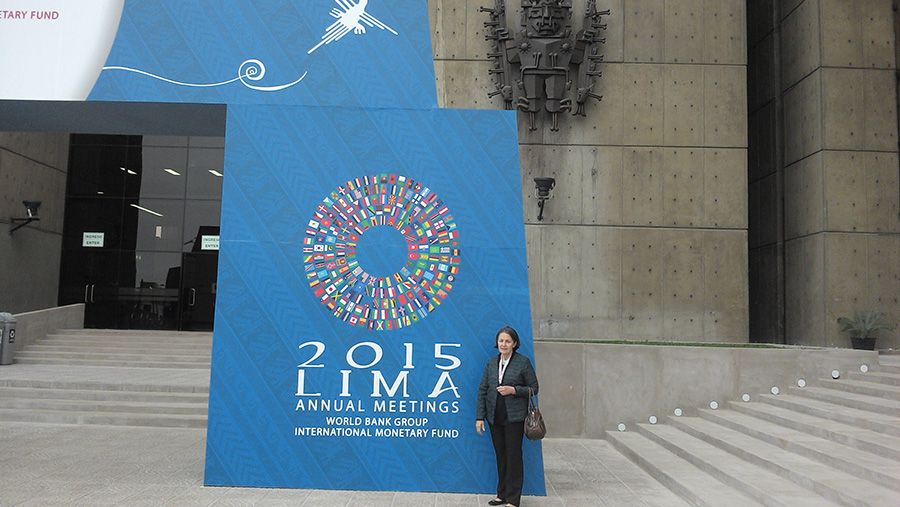 ANNUAL MEETINGS LIMA 2015